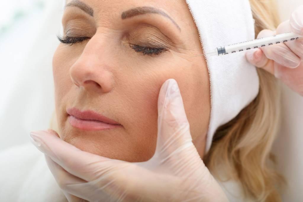 face botox