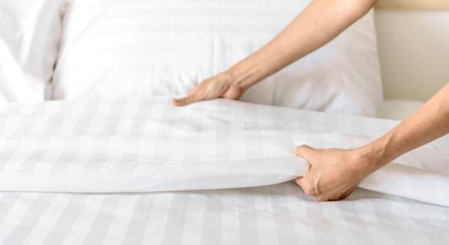 How often do you have to change the sheets?