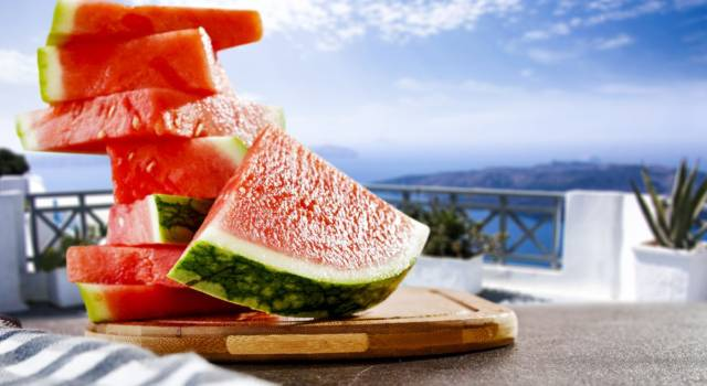 The watermelon diet is perfect for the summer and also slims up to 5 kg!