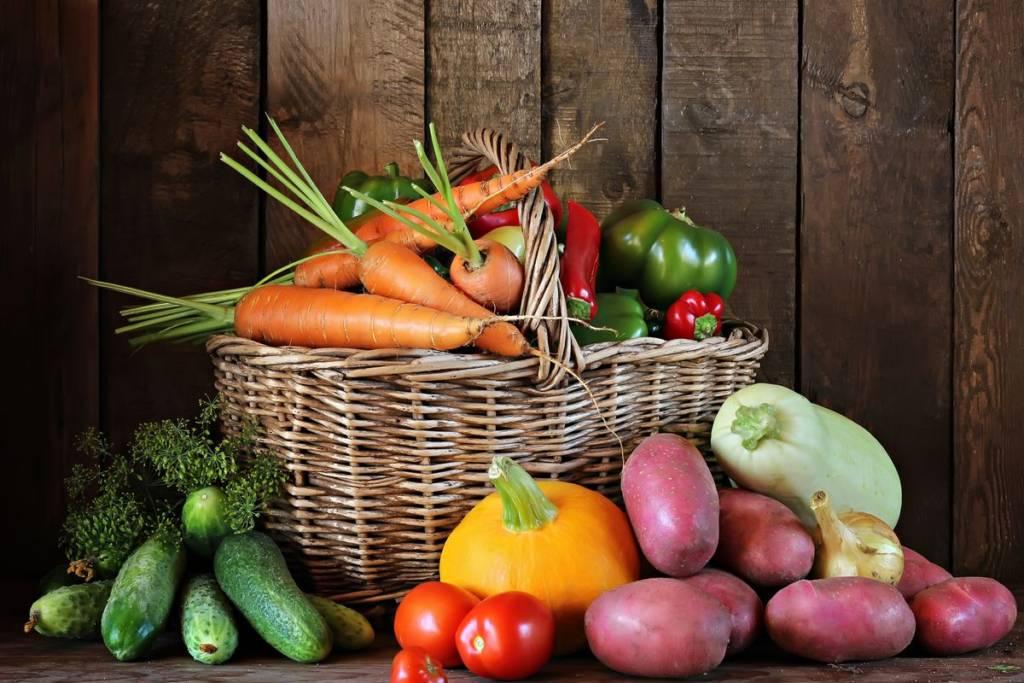 seasonal vegetables August