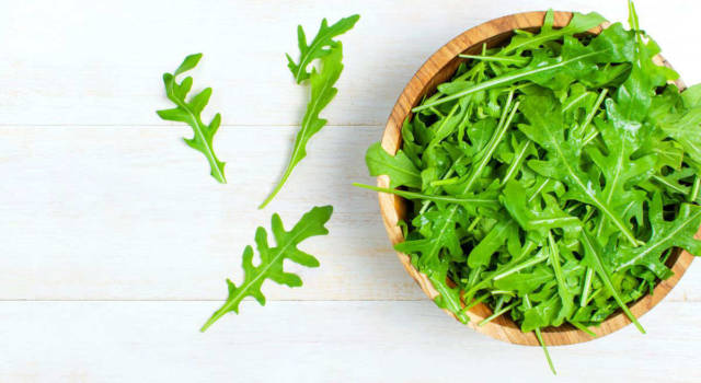 Arugula lowers blood pressure and is good for the heart