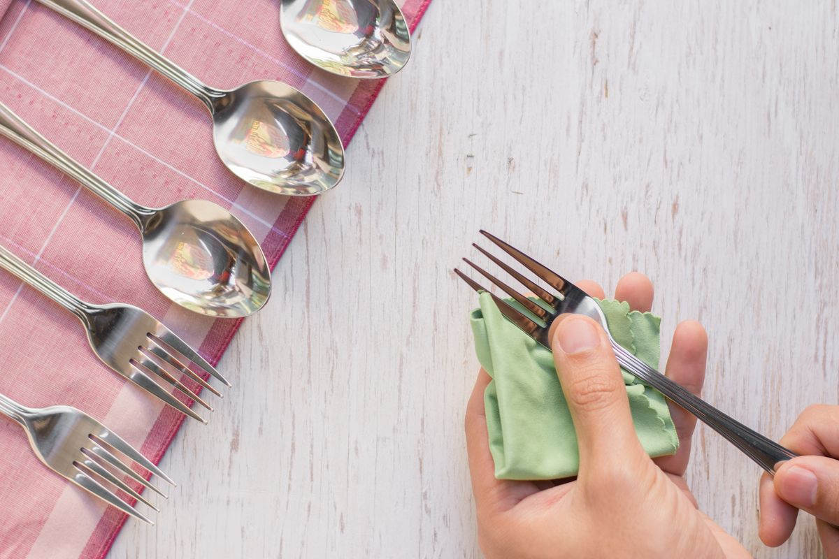 Silver cutlery