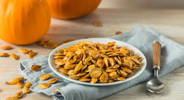 Don't throw pumpkin seeds away! Did you know that they are a cure-all for …?