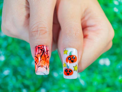 Halloween nails: the simplest and funniest choices to choose from