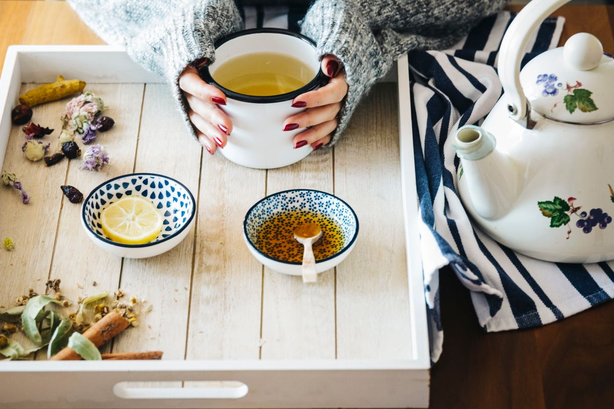 Herbal teas for flu