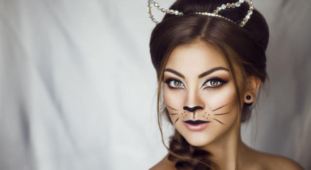 How to make a cat makeup in a simple and effective way