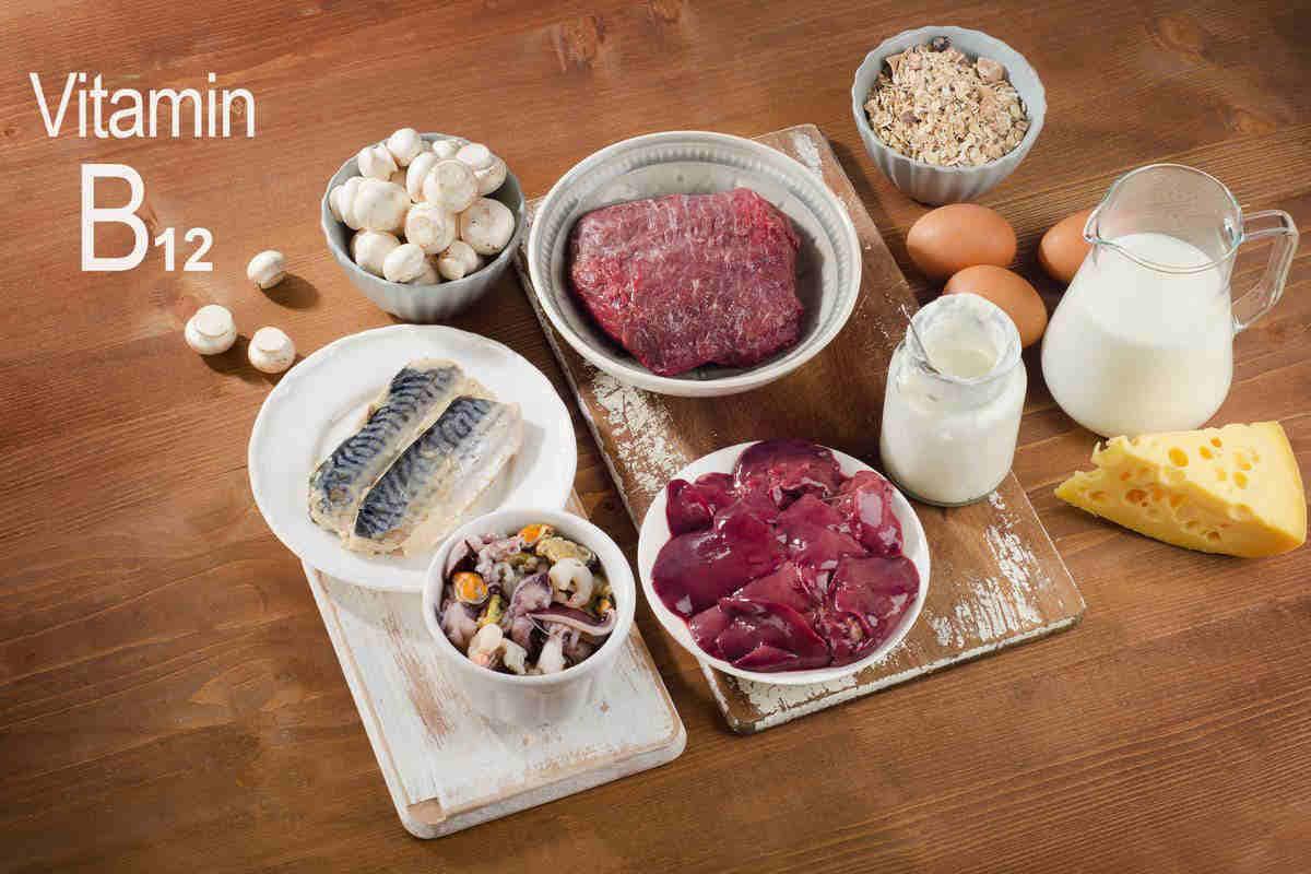 viamina B12 foods