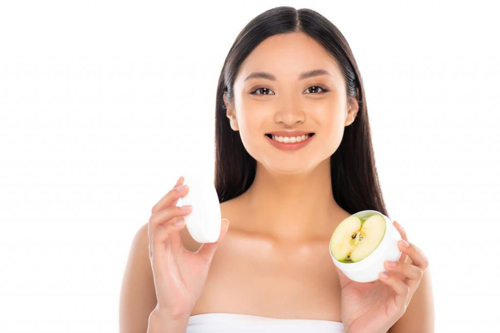 face cream with apple