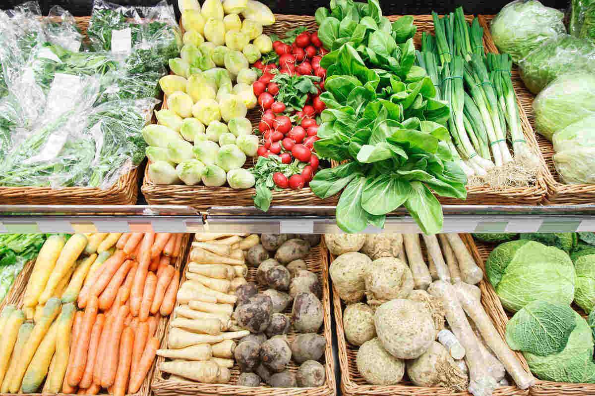 March vegetables