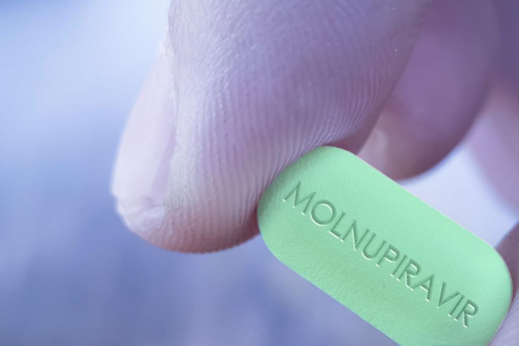 Molnupiravir drug