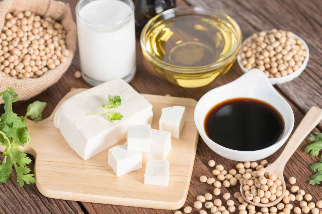 tofu and soy