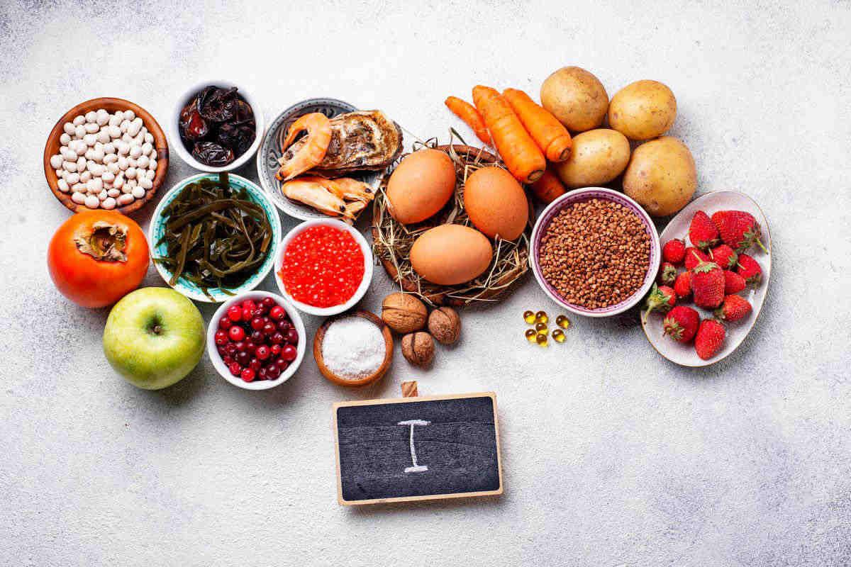 foods with iodine
