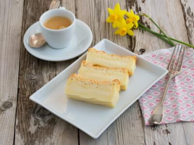 Magic vanilla cake: the original recipe to create three perfect layers