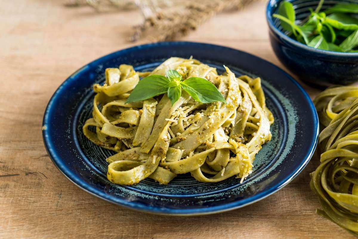 Zucchini and Philadelphia pasta