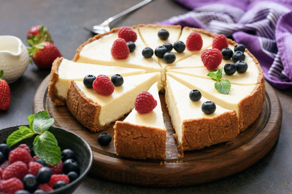 Philadelphia cheesecake without cooking