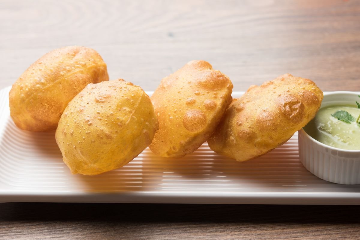 Puffed potatoes