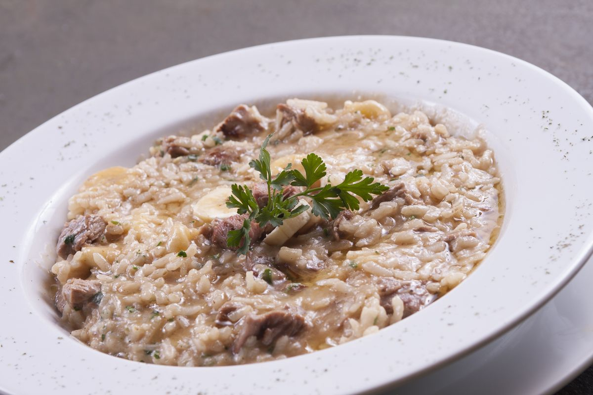 Risotto with tastasal