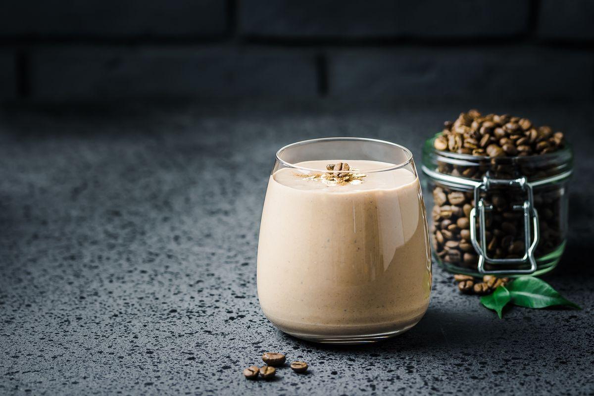 Water-based coffee cream