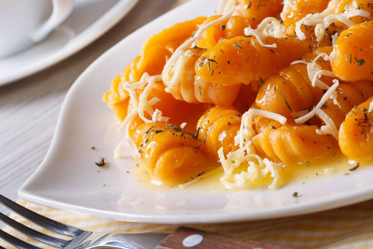 Gluten-free pumpkin gnocchi
