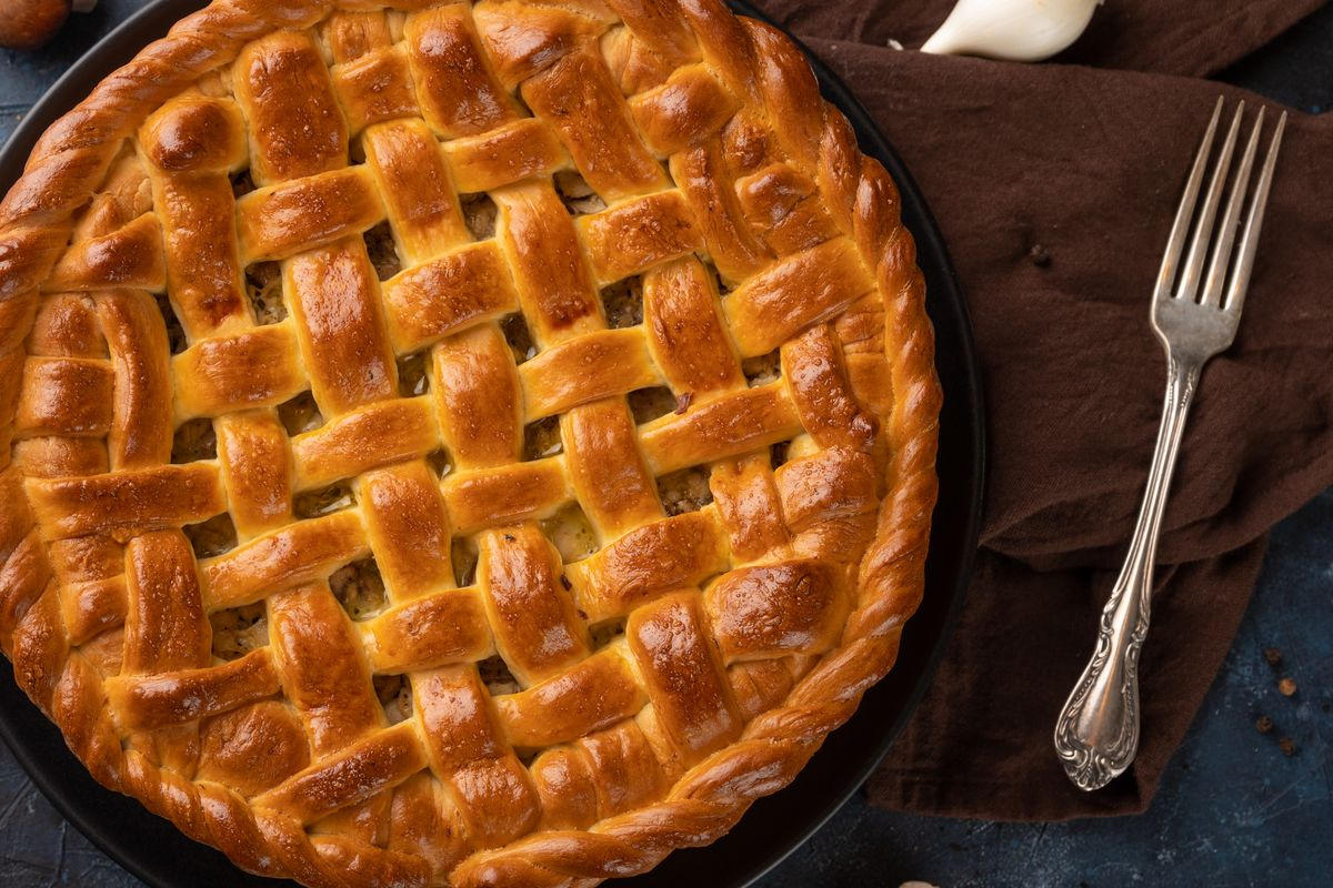 Delight almond cake