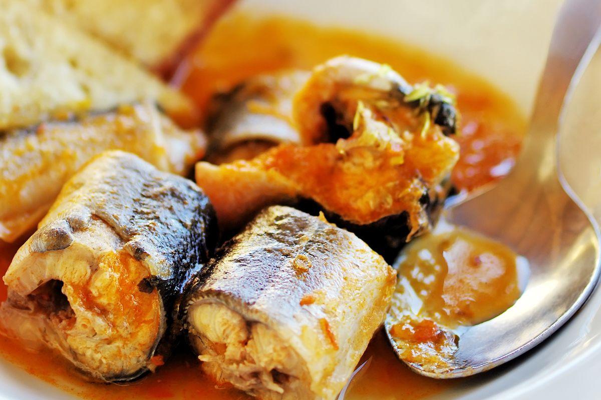 Venetian-style stewed eel