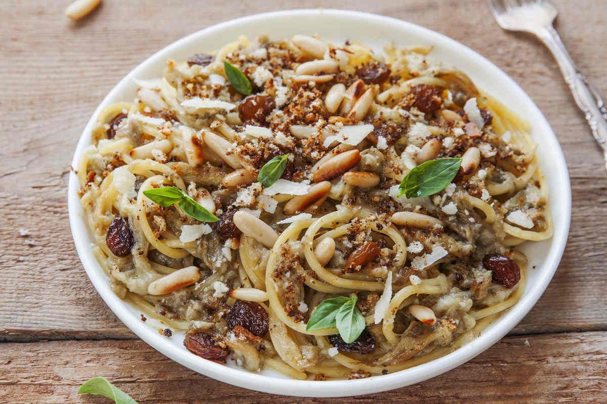 Pasta with scammaro
